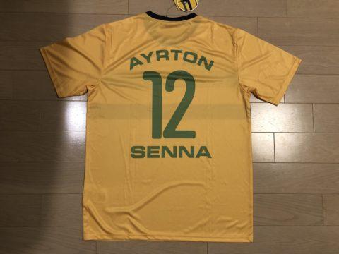 Ayrton Senna ヘルメットカラーTシャツ02