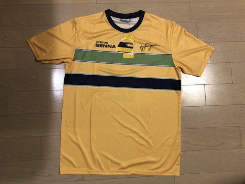 Ayrton Senna ヘルメットカラーTシャツ01