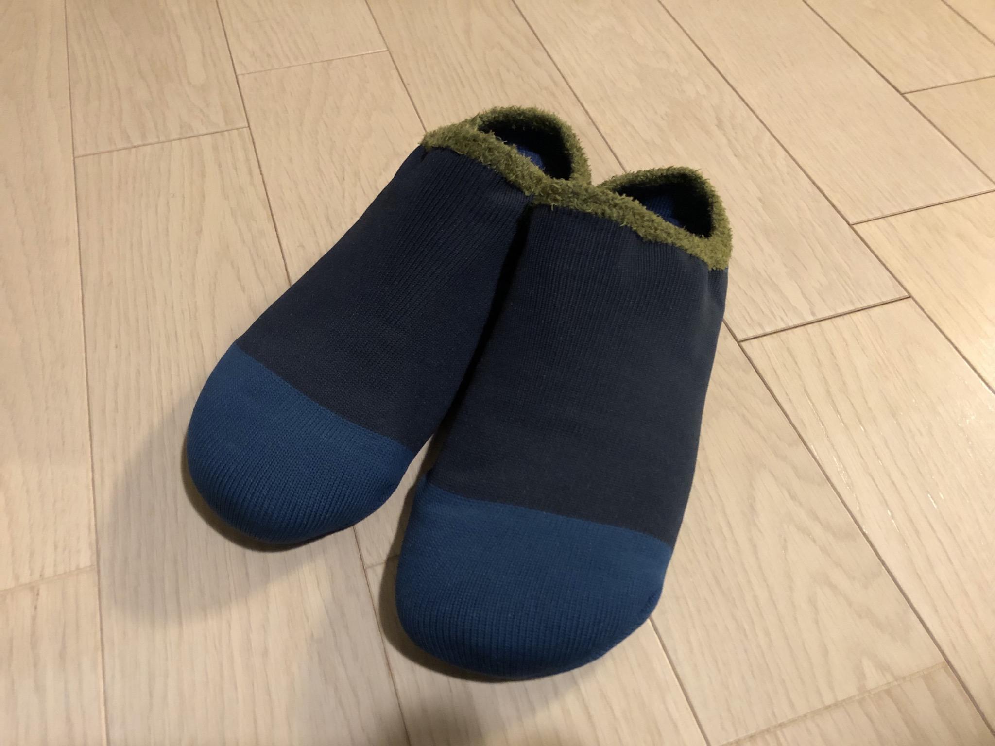 初めてのルームシューズ-グンゼ軽ッパ-02