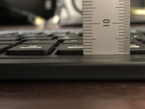仕事PCのキーボードを再考する - ELECOM TK-SLP01BK/EC-11