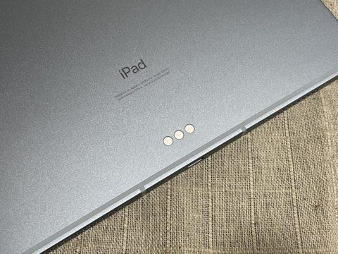 戻ってきた-iPad Air 4th-03-Smartkyeboard Folio用接点