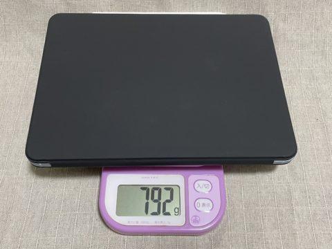 戻ってきた-iPad Air 4th-07-フルセット重量