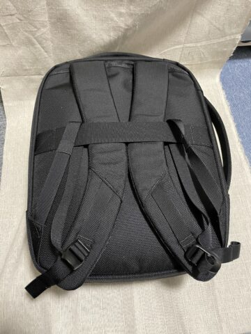 Aerは良いよ!Aer Slim Pack BLACK-01