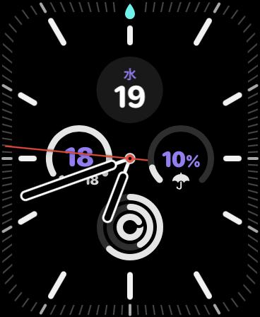 まるで狙い撃ち(笑)。。。Apple Watch Series6-03