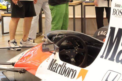 Honda F1 2021 2nd Stage-11 McLaren MP4/5B Senna