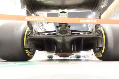 Honda F1 2021 2nd Stage-13 STR13