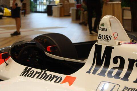Honda F1 2021 2nd Stage-24 McLaren MP4/4 Senna