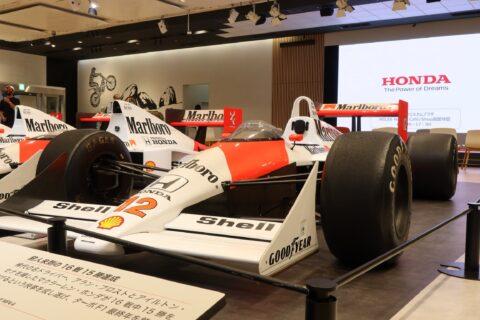 Honda F1 2021 2nd Stage-19 McLaren MP4/4 Senna
