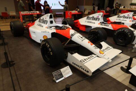 Honda F1 2021 2nd Stage-32 McLaren MP4/6 Berger