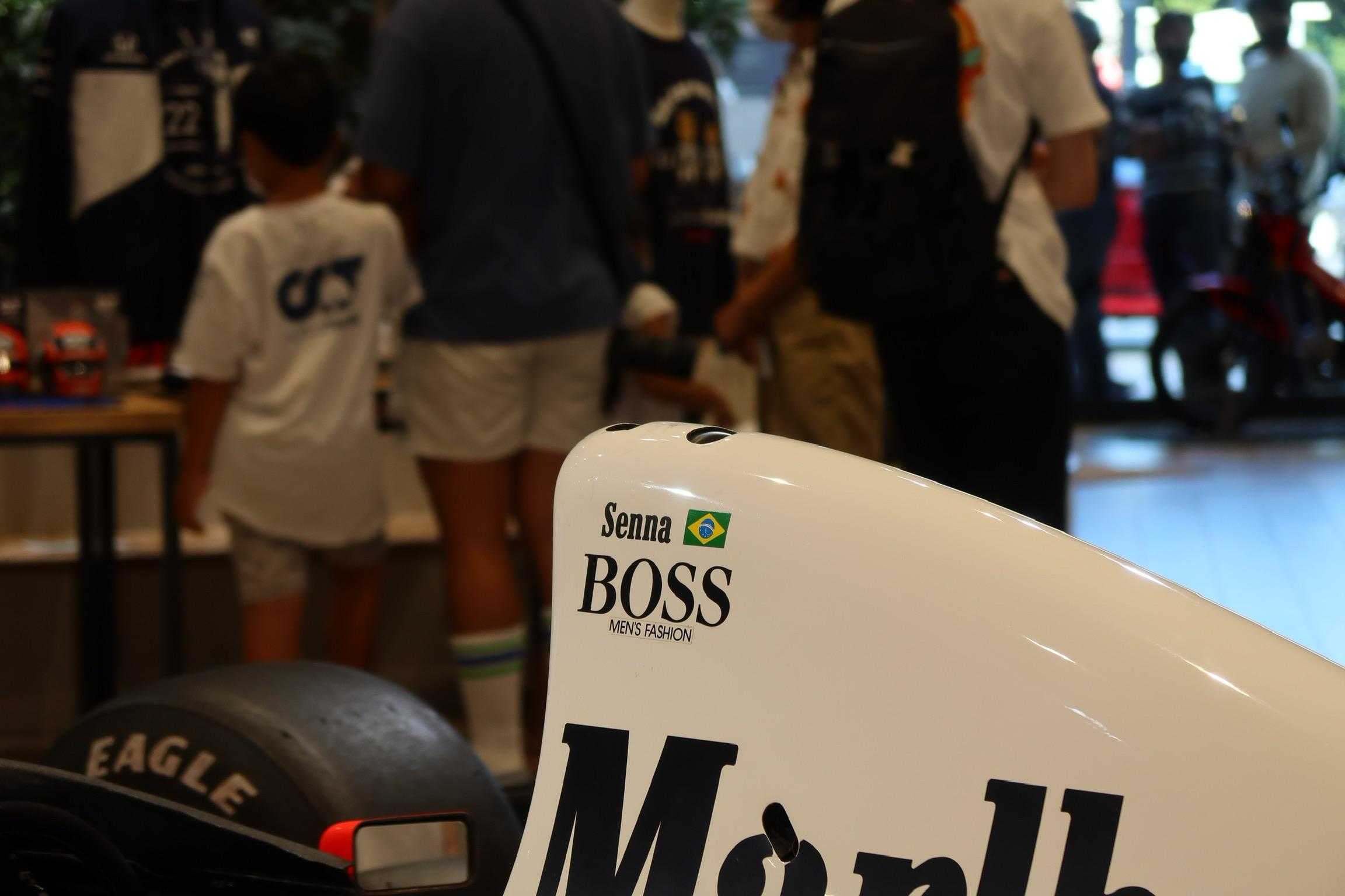 Honda F1 2021 2nd Stage-07 McLaren MP4/5B Senna