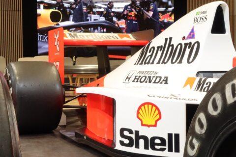 Honda F1 2021 2nd Stage-09 McLaren MP4/5B Senna