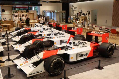 Honda F1 2021 2nd Stage-31 McLaren MP4