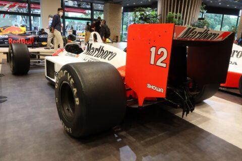 Honda F1 2021 2nd Stage-34 McLaren MP4/4 Senna