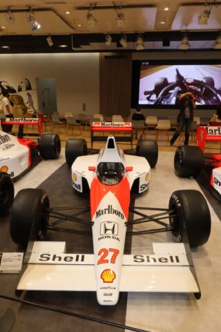 Honda F1 2021 2nd Stage-08 McLaren MP4/5B Senna